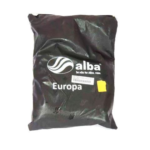 Imagem de Capa de Chuva Alba Europa Masculina PVC c/ Gola Motoqueiro Tamanho P