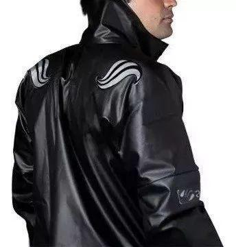 Imagem de Capa de chuva moto motoboy alba europa com gola pvc