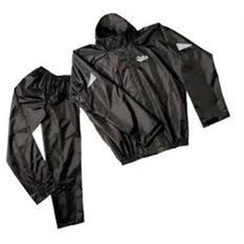 Imagem de Capa de chuva para motoqueiro com capuz e calça tamanho m