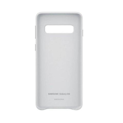 Imagem de Capa de Couro Branco S10+ Samsung Galaxy S10 Plus Original