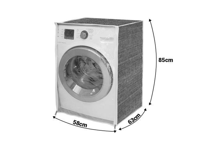 Imagem de Capa de máquina de lavar - Jeans Com Abertura Frontal