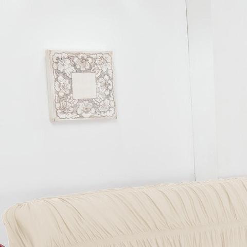 Imagem de Capa de Sofá 3 Lugares Elásticada Palha