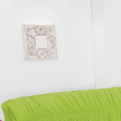 Imagem de Capa de Sofá 3 Lugares Elásticada Pistache