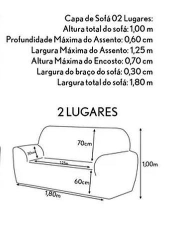 Imagem de Capa de Sofá PADRÃO 02 Lugares Pequeno PREMIUM Malha Gel 21 Elástico Manta para Sofá AVELÃ