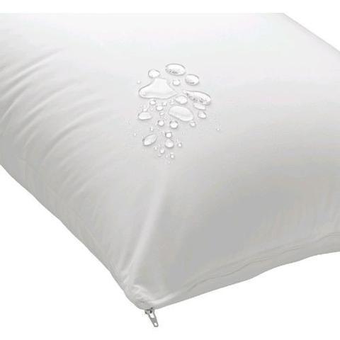 Imagem de Capa De Travesseiro Antialergico Impermeável 70x50cm 100% Algodão
