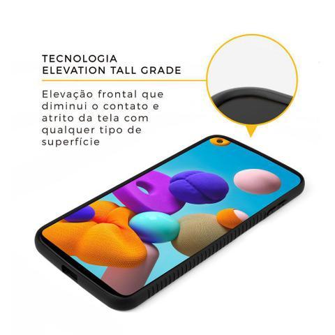 Imagem de Capa Dual Shock X Preta Para Samsung Galaxy A21s - Gshield