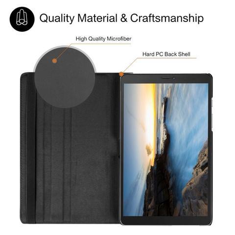 Imagem de Capa Giratória Inclinável Para Tablet Samsung Galaxy Tab A 8