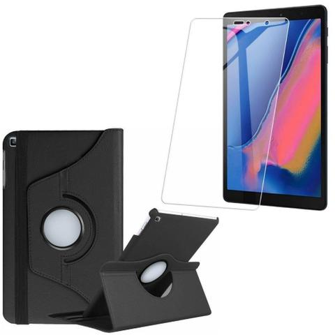 Imagem de Capa Giratória + Película de Vidro Blindada Samsung Galaxy Tab A S Pen 8.0 P205/P200 - Armyshield