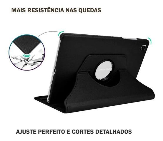 Imagem de Capa Giratória Tablet Galaxy Tab A7 10.4 (2020) T500 / T505 Preta