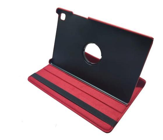 Imagem de Capa Giratória Tablet Galaxy Tab A7 10.4 (2020) T500 / T505 Vermelha