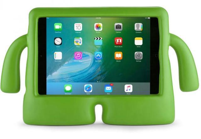 Imagem de Capa Iguy iPad Mini 1 2 3 4 Anti Choque Infantil - Verde