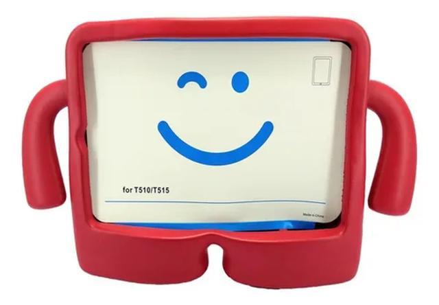 Imagem de Capa Iguy Tablet Samsung T510 T515 Infantil Emborrachada Vermelha
