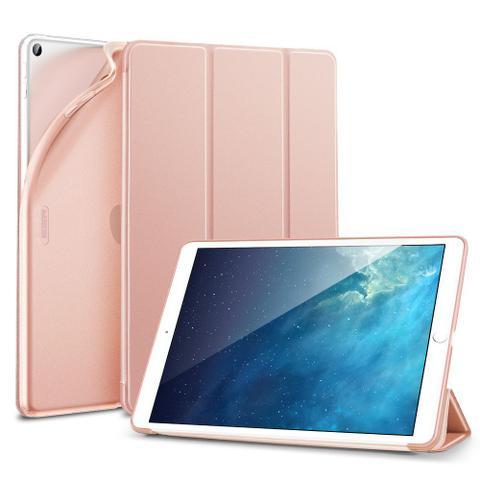 Imagem de Capa iPad 7 10.2 (7ª Geração) Case Folio Silicone Premium Rosa