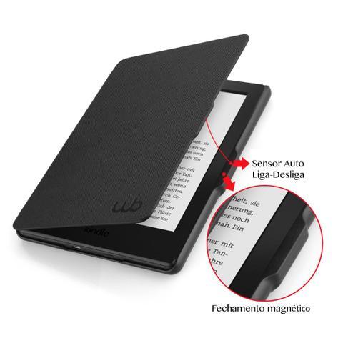 Imagem de Capa Kindle 8a Geração WB Auto Liga/Desliga - Ultra Leve Preta