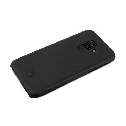 Imagem de Capa Leather Slim Preta Galaxy J8 - Gorila Shield