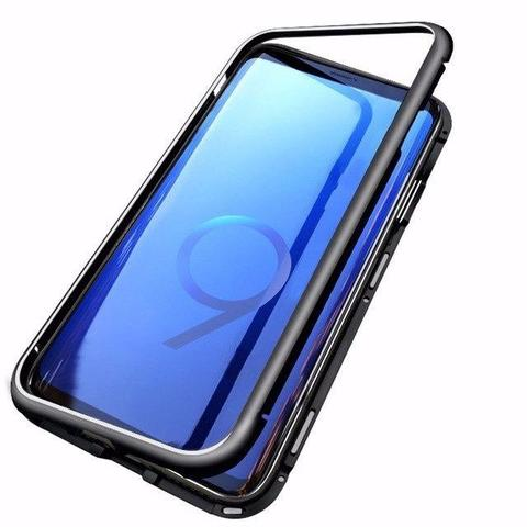 Imagem de Capa Magnética Galaxy S9 Tela 5.8 em Aluminium Premium Vidro Temperado