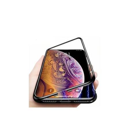 Imagem de Capa Magnética  Preta Super Luxo para Galaxy A10 / M10