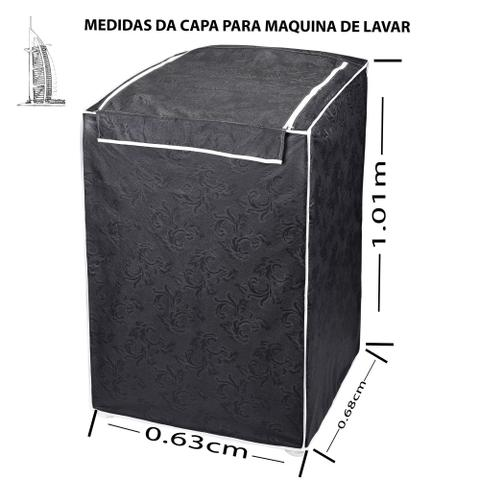 Imagem de Capa Máquina De Lavar Brastemp Electrolux Consul Colormaq Impermeável 10 11 12 Kg