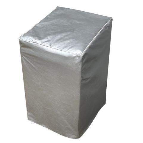 Imagem de Capa Maquina de Lavar Consul 13kg 15kg 16kg Zíper Transparente Cinza