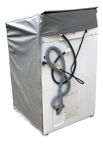 Imagem de Capa Maquina De Lavar Electrolux 13kg Zíper com painel Transparente