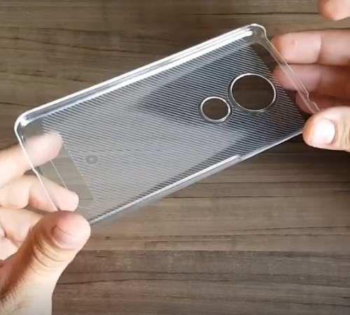 Imagem de Capa Moto G6 Play Cristal Case Original Muvit Motorola