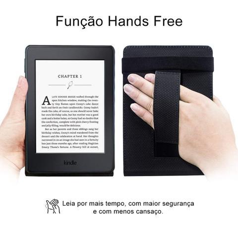 Imagem de Capa Novo Kindle Paperwhite a prova D'água WB  Premium Freedom Auto Hibernação - Preta