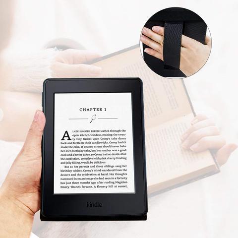 Imagem de Capa Novo Kindle Paperwhite a prova Dágua WB  Premium Freedom Auto Hibernação - Preta
