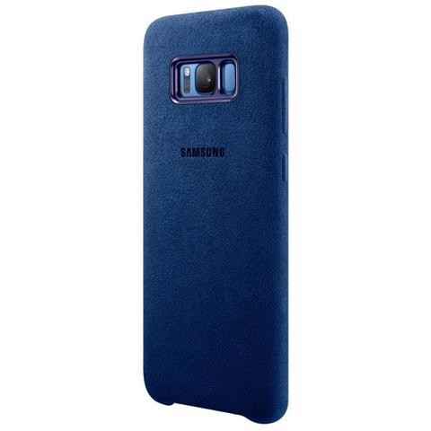 Imagem de Capa Original Alcantara Samsung Galaxy S8 Plus - Azul