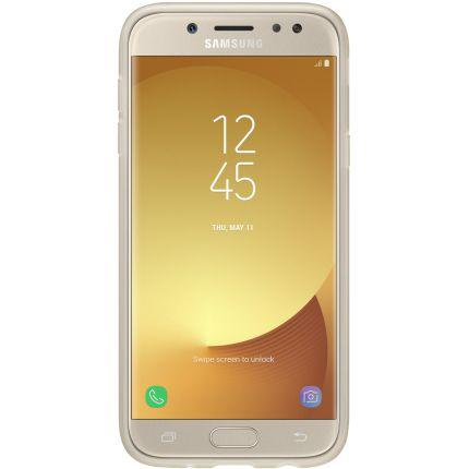 Imagem de Capa Original Galaxy J5 Pro 2017 Samsung Jelly Cover Dourada