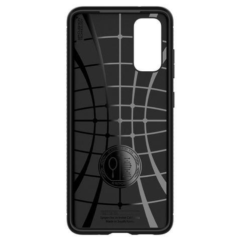 Imagem de Capa Original Spigen Galaxy S20 5G Rugged Armor Matte Black