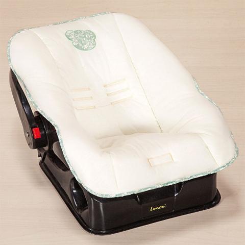 Imagem de Capa para Bebê Conforto em Malha Amore Verde - Giz de Cor