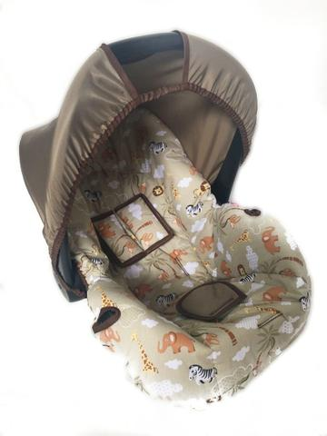Imagem de Capa Para Bebê Conforto Multimarcas De 0 A 13 Kg Safari Kak