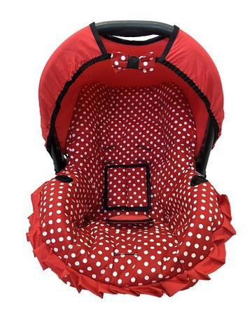 Imagem de Capa Para Bebê Conforto Multimarcas De 0 A 13 Kg Vermelho Bola G
