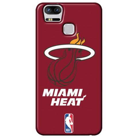 Imagem de Capa para Celular - Asus Zenfone 3 Zoom ZE553KL - Miami Heat - A19