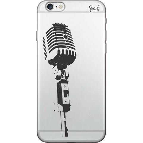 Imagem de Capa para Celular Motorola Moto E5 Plus - Spark Cases - Microfone