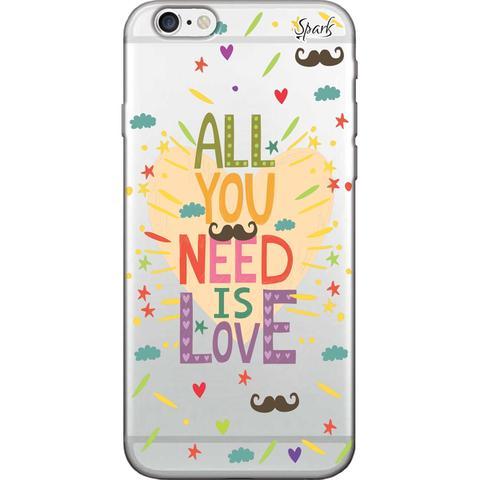 Imagem de Capa para Celular Motorola Moto G5 - Spark Cases - All You Need is Love