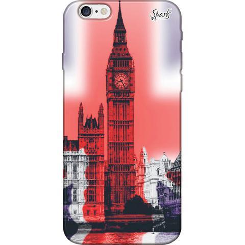 Imagem de Capa para Celular Samsung J6 Plus - Spark Cases - Relógio Inglaterra