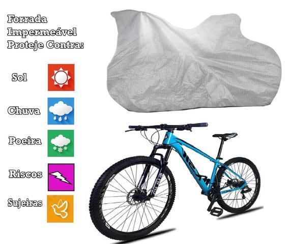 Imagem de Capa Para Cobrir Bicicleta Bike Todas Forrada E Impermeável