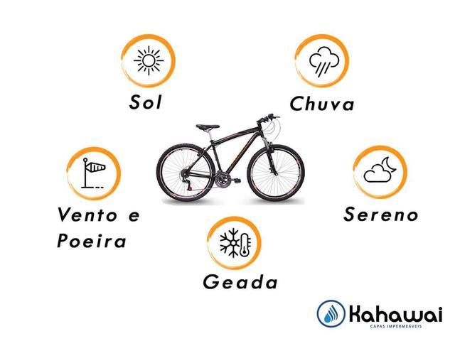 Imagem de Capa para cobrir bike bicicleta forrada impermeável
