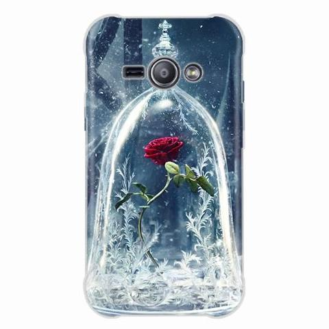 Imagem de Capa para Galaxy J5 Prime Rosa Bela e a Fera