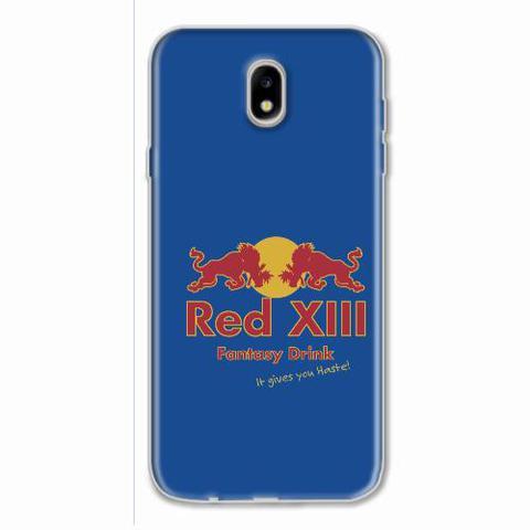 Imagem de Capa para Galaxy J7 Pro Red XIII Fantasy Drink