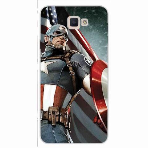 Imagem de Capa para Galaxy S5 Mini Capitão América 02