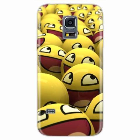 Imagem de Capa para Galaxy S5 Mini Emoticon 01