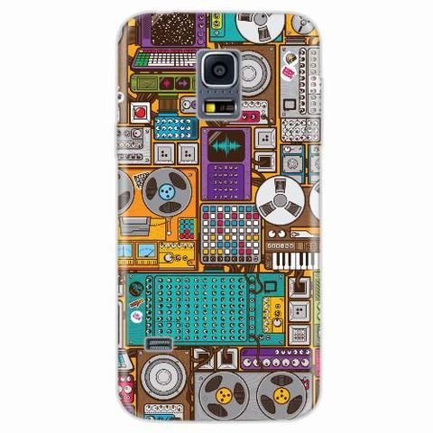 Imagem de Capa para Galaxy S5 Mini Gravadores Art 01