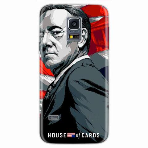 Imagem de Capa para Galaxy S5 Mini House Of Cards Frank Underwood
