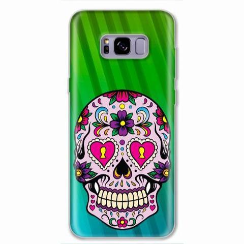 Imagem de Capa para Galaxy S8 Plus Caveira Mexicana 01