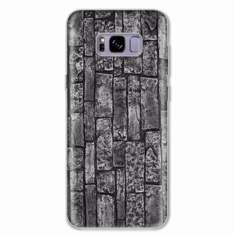 Imagem de Capa para Galaxy S8 Plus Tijolos de Pedra