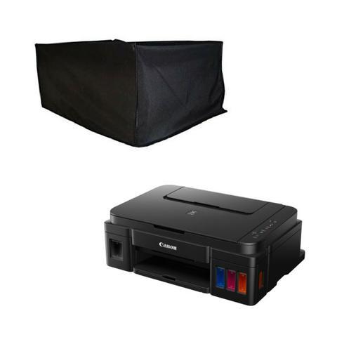Imagem de Capa Para Impressora Multifuncional Canon Pixma G3100 Preta