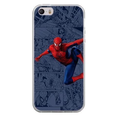 Imagem de Capa para iPhone 4 e 4S - História em Quadrinhos Homem Aranha