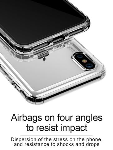 Imagem de Capa para Iphone XR 6.1 Baseus Safety - Transparente